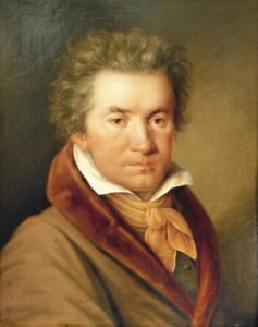 Portrait of Beethoven in 1815 by Joseph Willibrord Mähler