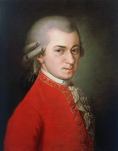 Composer Wolfgang Mozart
