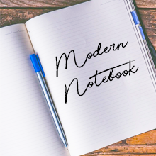 Modern Notebook Image
